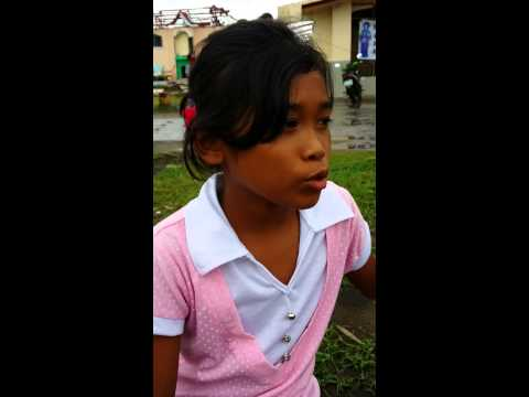 A 10 year old girl mourns the loss of her bestfriend after typhoon Haiyan / Yolanda. thumbnail