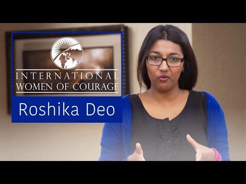 Roshika, International Women of Courage 2014