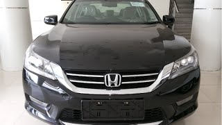All New Honda Accord 2015 VTi-L Review