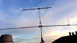 Installation of Cushcraft A148-10S 2m 10 Element Yagi