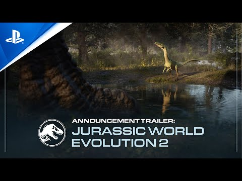 Jurassic World Evolution 2 - Announcement Trailer   PS5, PS4