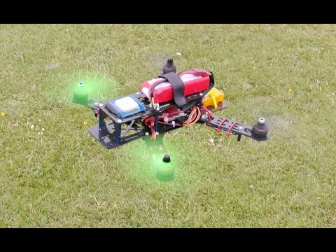 DEANO FLYING PHILS RC CARBON 250 SIZE QUADCOPTER AT CMAC - 2015