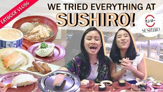 We Tried Everything at Sushiro | Eatbook Tries Everything | EP 6