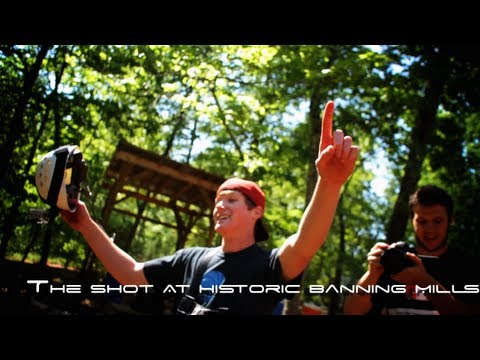 Amazing Basketball Trick Shots at Historic Banning Mills Adventure Tower