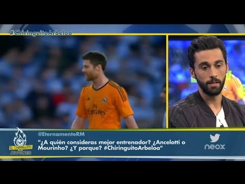 """Álvaro Arbeloa: """"Xabi Alonso fue muy honesto con el Real Madrid"""""""