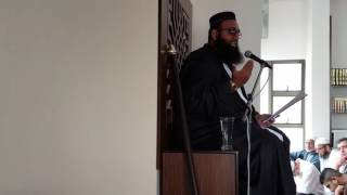 Jummua lecture by Moulana Sulaiman Rawat