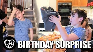 SURPRISE BIRTHDAY DINNER | DID NOT EXPECT THAT ON HIS 12TH BIRTHDAY