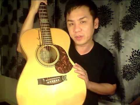Maton EBG 808 TE Tommy Emmanuel OM review in Singapore