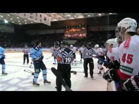 Массовая драка в матче Сибирь - Трактор / Major brawl @ SIB - TRA game