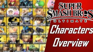 Smash Ultimate Full Roster Characters Overview (Patch 3.1.0.)/ Stream Highlight
