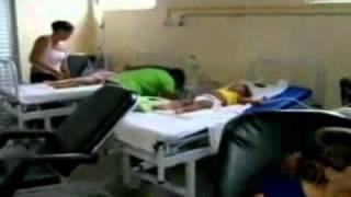 Mãe assiste filha morrer no hospital