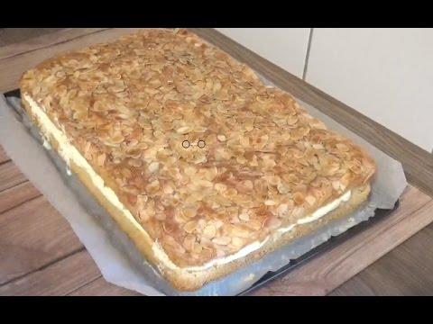 Arasi Kremali Bademli Pasta Tarifi