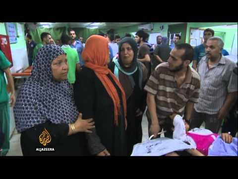 UN shelter in Gaza 'struck by Israeli shells'
