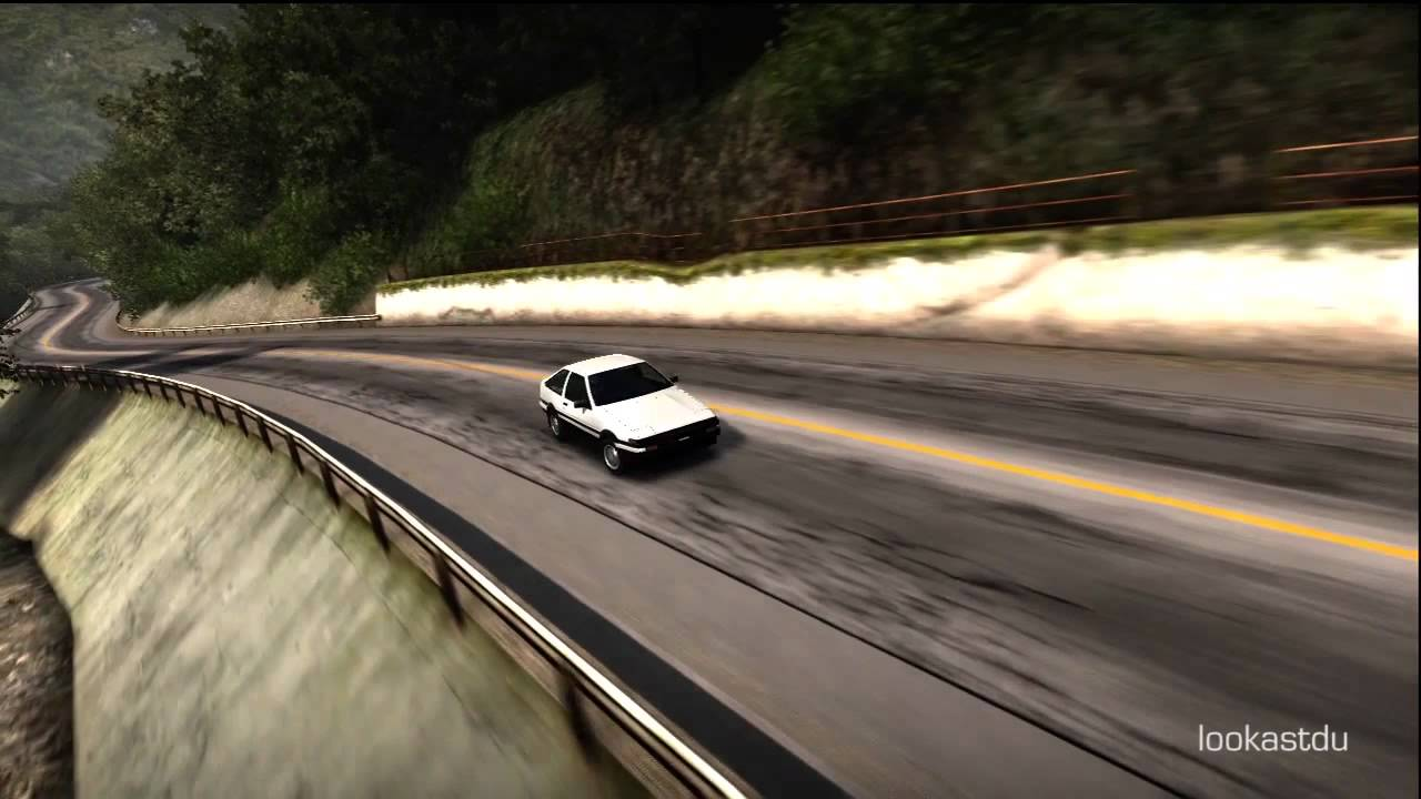 fm3 toyota sprinter trueno ae86 drifting track cam youtube. Black Bedroom Furniture Sets. Home Design Ideas