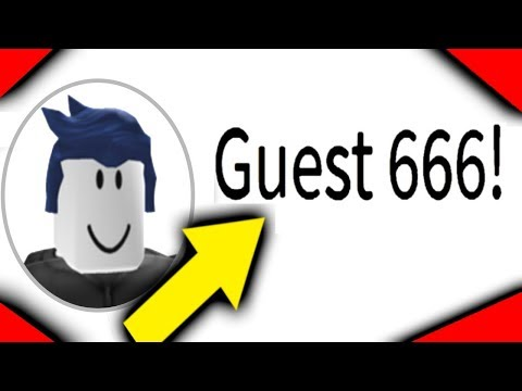 HOW TO BECOME GUEST 666 ON ROBLOX