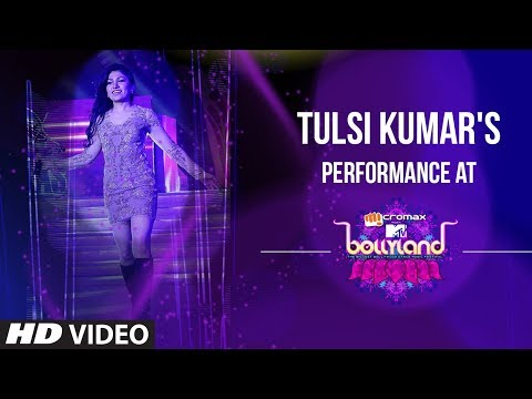 Tulsi Kumar performing at MTV Bollyland