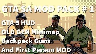 GTA SA MOD Pack #1