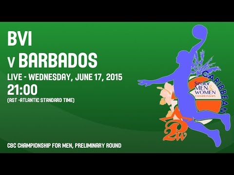 British Virgin Islands v Barbados - Group A - 2015 CBC Championship