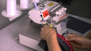 SiRUBA 700Q/ PZ: Presser foot for zipper sewing