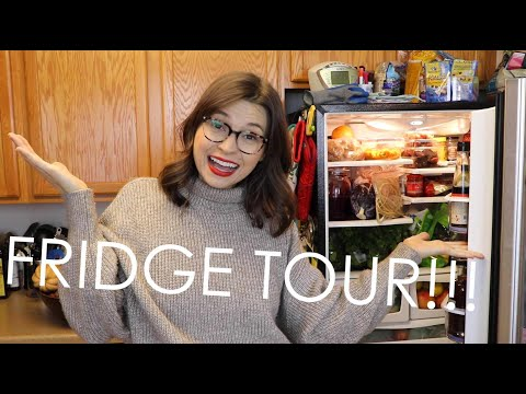 FRIDGE TOUR!!!