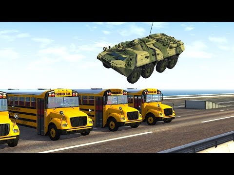 BeamNG DRIVE - Crushing Vehicles