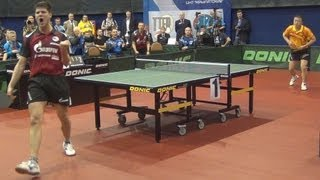 MA Lin vs Dimitrij OVCHAROV FINAL 2of3 Games Russian Premier League Playoff Table Tennis