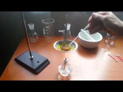 Синтез люминофора из борной кислоты и флуоресцеина ||| Luminophore Synthesis