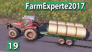 Ballen ernten auf dem großen Feld ► Farm Experte 2017 #19