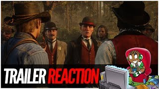 Red Dead Redemption 2 Launch Trailer Reaction