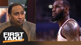 Stephen A. Smith goes off on LeBron James for his
