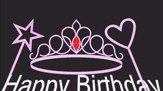 Happy Birthday To You My Little Princess Music for girls Song friend mom sister best friend