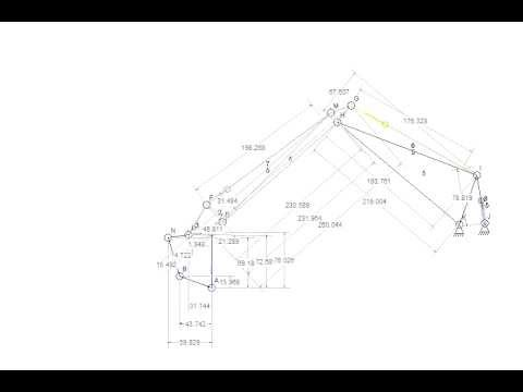 480p Test of Linkage Mechanism Designer
