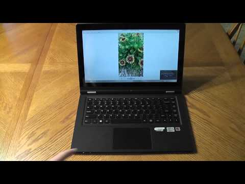 Lenovo IdeaPad Yoga 13 Review - Windows 8 Convertible Notebook