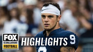 Penn State vs Kent State | FOX COLLEGE FOOTBALL HIGHLIGHTS