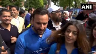 'It's just a game': Saif Ali Khan on India vs Pakistan match