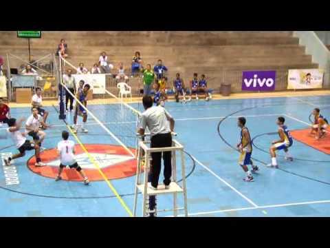 Vóleibol varones: Chile - Brasil