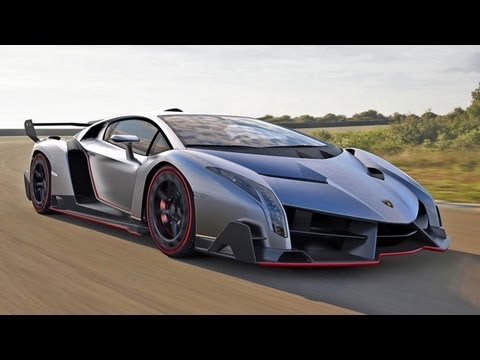 World's Fastest Car - Lamborghini Veneno $4.5 Million Supercar