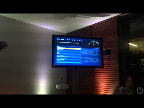 New Sky EPG demo (2014)