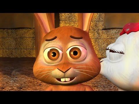 Buenas noches queridos conejos (HD) - Canciones de la Granja de Zenón 2