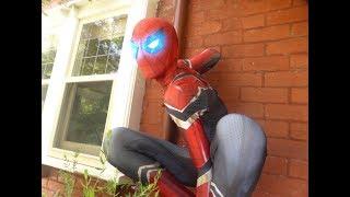 Infinity War Iron Spider Spider man Zentaizone Costume   Unboxing/Unbaging, Review