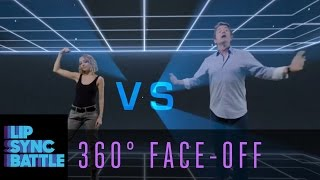 LSB 360 Face-Off: Nicole Richie vs. John Michael Higgins | Lip Sync Battle