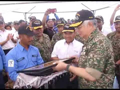 PM Launches Tun Sharifah Rodziah Sea Base