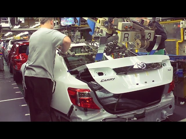 Toyota Camry Production - YouTube