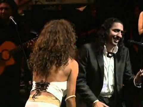 Rosario Flores con el Cigala - Te quiero, te quiero.abba