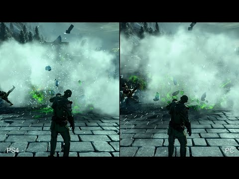 Dragon Age: Inquisition - PS4 vs PC Comparison