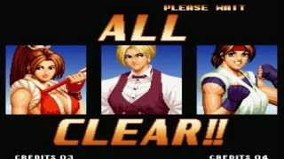 The King Of Fighters 97 - Final Secreto - Mai,King e Yuri - (KOF 94 Females Team)
