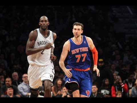 Andrea Bargnani - New York Knicks @ Brooklyn Nets (December 5, 2013)