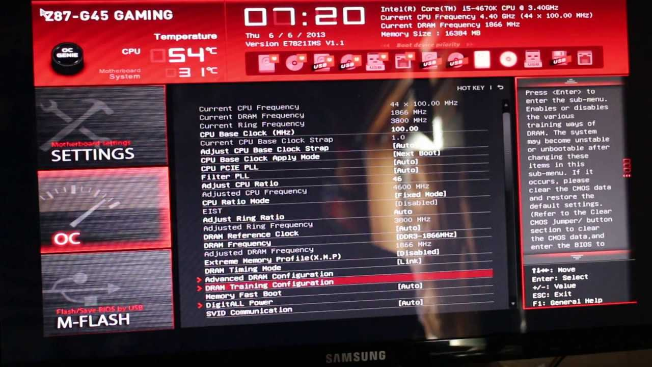 Overclocking  Intel Z97 Express Five Enthusiast