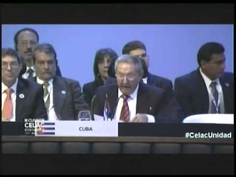 Define Raúl Castro cuatro asuntos esenciales para normalizar relaciones con Estados Unidos