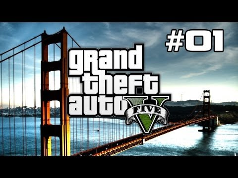 Grand Theft Auto V (GTA 5) Review / Walkthrough - Part 1